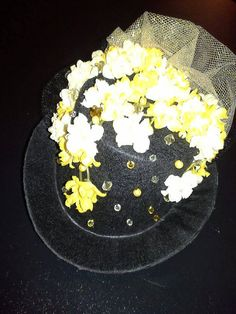 Yellow+Victorian+Mini+Top+Hatinator+by+TannerCustoms+on+Etsy,+$35.00