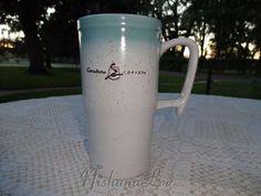 Caribou Coffee Tall Ceramic Mug Cup Holds 16 Ounces Caribou Coffee, Mug Cup, Worlds Largest, Pottery, China, Ceramics, Mugs, Drinks, Tableware