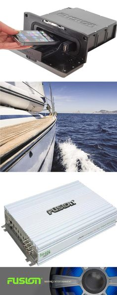 FUSION marine audio Designed from the water up