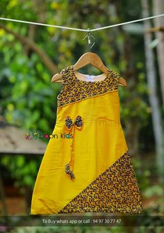 Ideas For Baby Dress Design Beautiful Girls Frock Design, Baby Dress Design, Kids Dress Wear, Kids Gown, Baby Frocks Designs, Kids Frocks Design, African Dresses For Kids, Little Girl Dresses, Baby Girl Dress Patterns