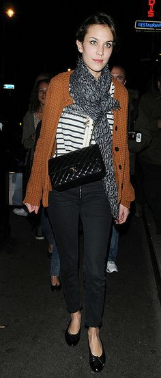 Preppie_-_Alexa_Chung_at_Quo_Vadis_restaurant_in_London_-_September_24_2009_269 by biscuits99, via Flickr