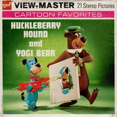 View Master, Master Art, Clay Figures, Action Figures, Cartoon Characters, Fictional Characters, Huckleberry, Scooby Doo, Board Games