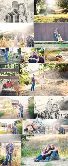 ranch styled country engagement session    https://www.facebook.com/zsthedaydesignsphotography