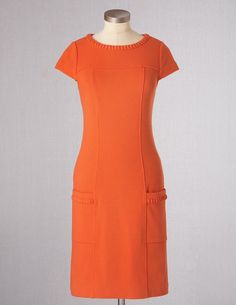Summer Ponte Dress WH510 Above Knee Dresses at Boden