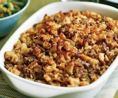 Gluten Free Sausage Cornbread Stuffing - Stuffed this in a chicken for a special Christmas dinner. It was a hit and made a yummy, corn scented chicken stock.