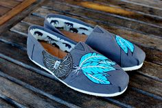 Native American Dream Catcher TOMS shoes by BStreetShoes on Etsy, $129.00