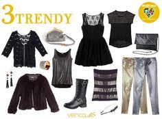 Look Trendy. ¿Sigues las últimas tendencias en moda? Este es tu look :)