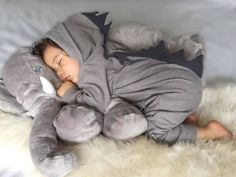 Lulu Dinosaur Jumpsuit (Grey)