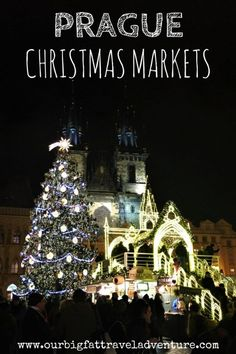We've been exploring the Prague Xmas Markets, here's a guide to where the Prague Christmas markets are, when they're open and what you can buy. Prague Christmas Market, Christmas Markets Europe, Christmas Travel, Holiday Travel, Budapest Christmas, Europe Travel Guide, Travel Guides, Europe Destinations, Visit Prague