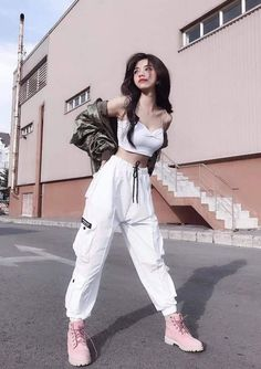 22 Cute Hipster Outfits That Will Inspire You ko. - 22 Cute Hipster Outfits That Will Inspire You korean fashion The Ef - Teen Fashion Outfits, Kpop Outfits, Edgy Outfits, Mode Outfits, Dance Outfits, Girl Outfits, Teen Street Fashion, Korean Street Fashion Urban Chic, Fashion Dresses