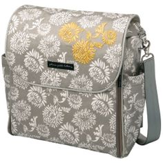 diaper bags in grey and yellow   love the grey and yellow together pattern shanghai mist and i can t ...