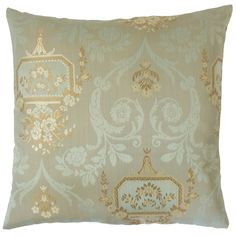 Nathifa Damask Throw Pillow