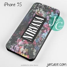 nirvana floral vintage Phone case for iPhone 4/4s/5/5c/5s/6/6 plus