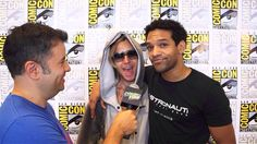 San Diego Comic Con July 2013. Khary Payton and Gregory Michael Cipes.