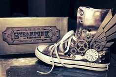 zapatillas steampunk - Google Search Más