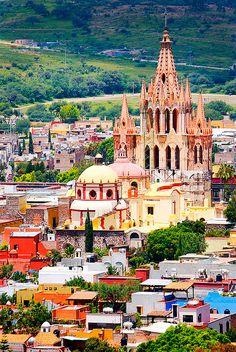 La vista, San Miguel de Allende