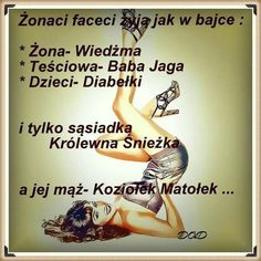 Żonaci faceci Man Humor, Motto, Qoutes, Texts, Haha, Thoughts, Relationships, Humor, Quotations