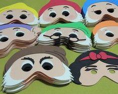 Máscara Branca de Neve e os Sete Anões