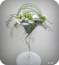 bloemschikken Pasen : Paasstuk in een glazen recipiënt maken