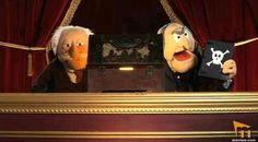 Jim Henson, Statler And Waldorf, Fraggle Rock, Grumpy Old Men, The Dark Crystal, Kermit, Puppets, Creatures, Joy