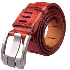 Lonestar Leather Belt - DEAL MAN