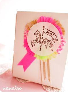 Cui  stamp ( carousel  pony )
