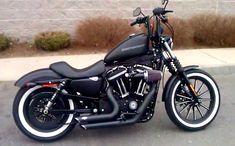 Custom Harley Davidson Iron 883 #harleydavidsonsporster