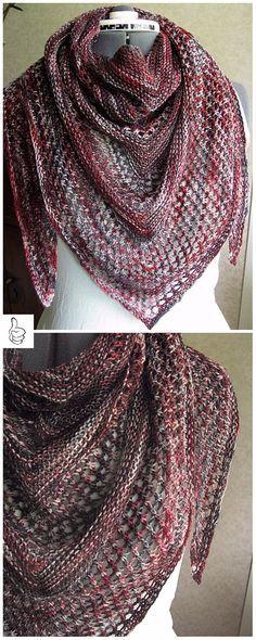 Crochet Shawl Patterns - Crochet Reyna Shawl Free Pattern