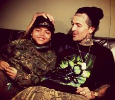 Yelawolf and his son .. :)