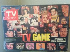 Vintage TV Guide Trivia Game 1980's 100% by FabulousGoodness