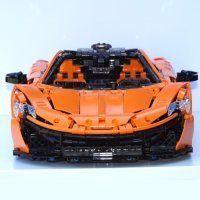Moc Mclaren P1 Hypercar 1 8 W Instructions By Brunojj1 Lego Cars Lego Technic Big Lego