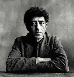 Alberto Giacometti by Irving Penn