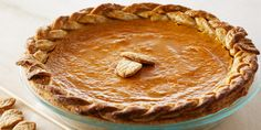 Anna Olson's Pumpkin Pie- I'm going to make the thanksgiving pie this year.  Wish me luck
