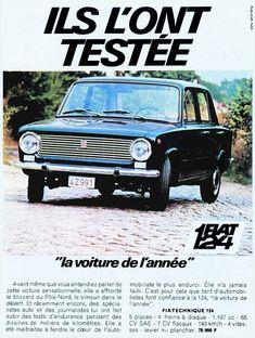 Fiat 124 Novembre 1967 Fiat, Automobile, Cars, History, Vehicles, November, Car, Historia, Autos