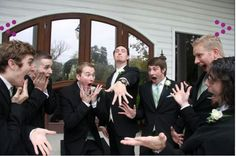 We love letting the guys be goofy in front of the photographer - it makes for great memories!