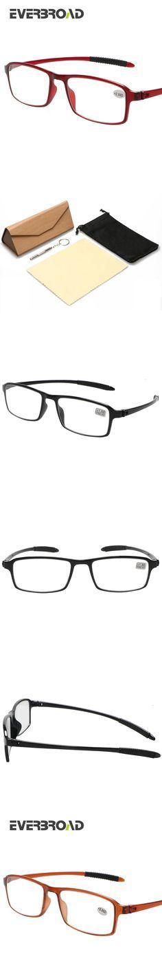 ecfd47c9bbc Classic Women and Men Reading Glasses Anti-Fatigue Resin Lens Light Frame  1.0 1.5 2.0