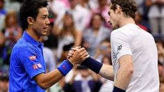 #tennis #news  Murray set for Nishikori quarter-final