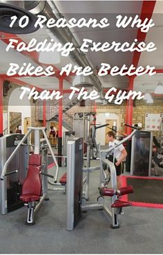 10 Reasons Why Folding Exercise Bikes Are Better Than The Gym - It's Not Just The Germs! Folding Exercise Bike, Exercise Bike Reviews, Spin Bikes, Best Gym, Sports Activities, Going To The Gym, How To Stay Healthy, At Home Workouts, Indoor