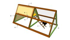 A Frame Chicken Coop Plans | Free Outdoor Plans - DIY Shed, Wooden Playhouse, Bbq, Woodworking Projects