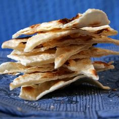 Thermomix Recipes: Italian Flat Bread: Piadina with Thermomix