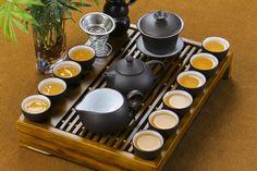 Chinese kongfu complete tea set zisha teaset tea pot tea cup gaiwan tea tray #kongfu