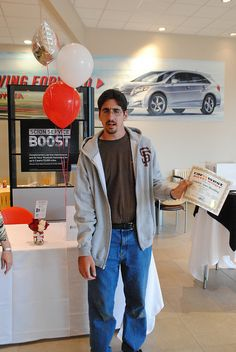 Winner of the Car West Auto Body Detail Certificate