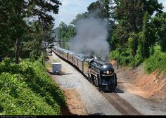 RailPictures.Net Photo: NW 611 Norfolk & Western Steam 4-8-4 at Smothers, Virginia by Ron Flanary
