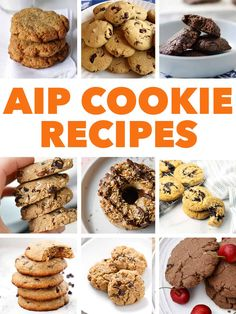 keto cookie recipes AIP Cookie Recipes do exist! Ive gathered up over of my favorite recipes in this post and theyre all delicious. Paleo Dessert, Low Carb Dessert, Diet Desserts, Dessert Recipes, Paleo Recipes, Cookie Recipes, Paleo Food, Paleo Cookies, Anti Inflammatory Recipes
