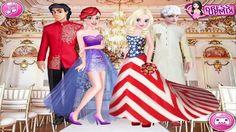 Princess Wedding Around The World - Best Disney Frozen Dress up games 2016