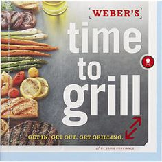 Webers Time To Grill in Barbecue | Crate and Barrel