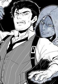 Ruvik and Sebastian