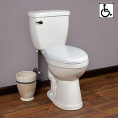 Bryson Siphonic Two-Piece Elongated Toilet - ADA Compliant