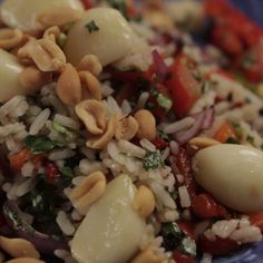 Grilled Vegetable and Rice Salad
