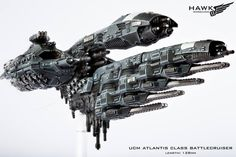 UCM Atlantis Battlecruiser